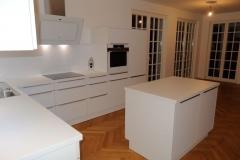 Schüller Küchen - Uni Plus kristallweiß