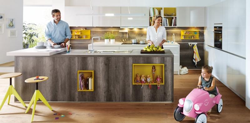 Schüller Küchen Bildergalerie - Möbel Spanrad Rosenheim