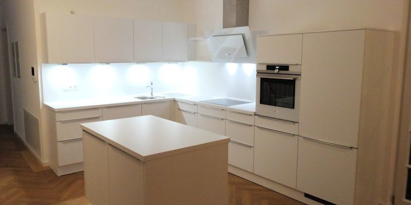 Schüller Küchen – Modell Uni Matt | Möbel Spanrad