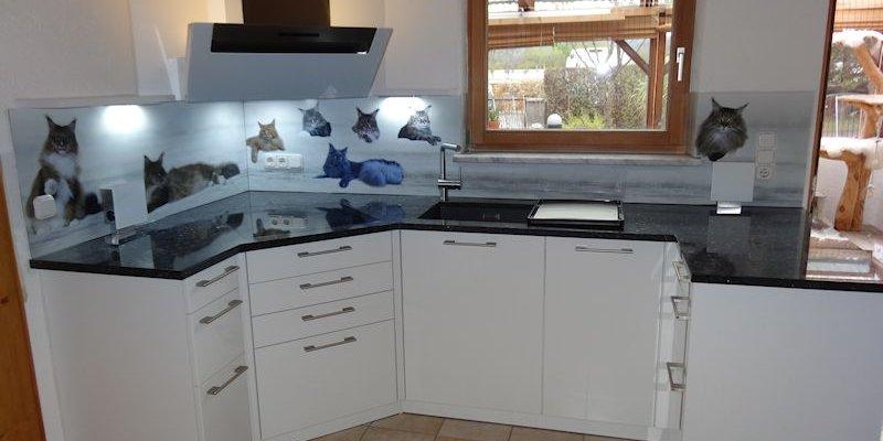 Schüller küchen weiß hochglanz  Referenzen: Schüller Küchen - Modell Sorrento Plus
