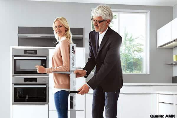 ergonometer - Küche ergonomisch geplant