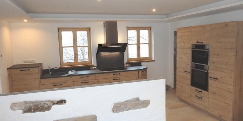 Nolte Küchen - Modell Artwood Wildeiche rustikal | Möbel Spanrad