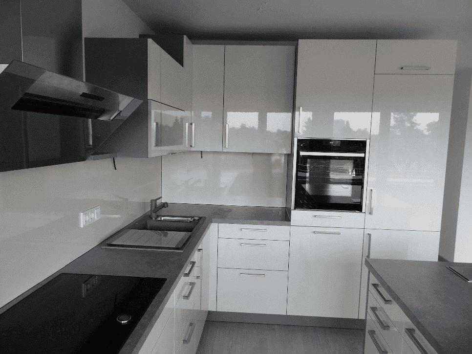 sch ller k chen modell uni gloss magnolia m bel spanrad. Black Bedroom Furniture Sets. Home Design Ideas