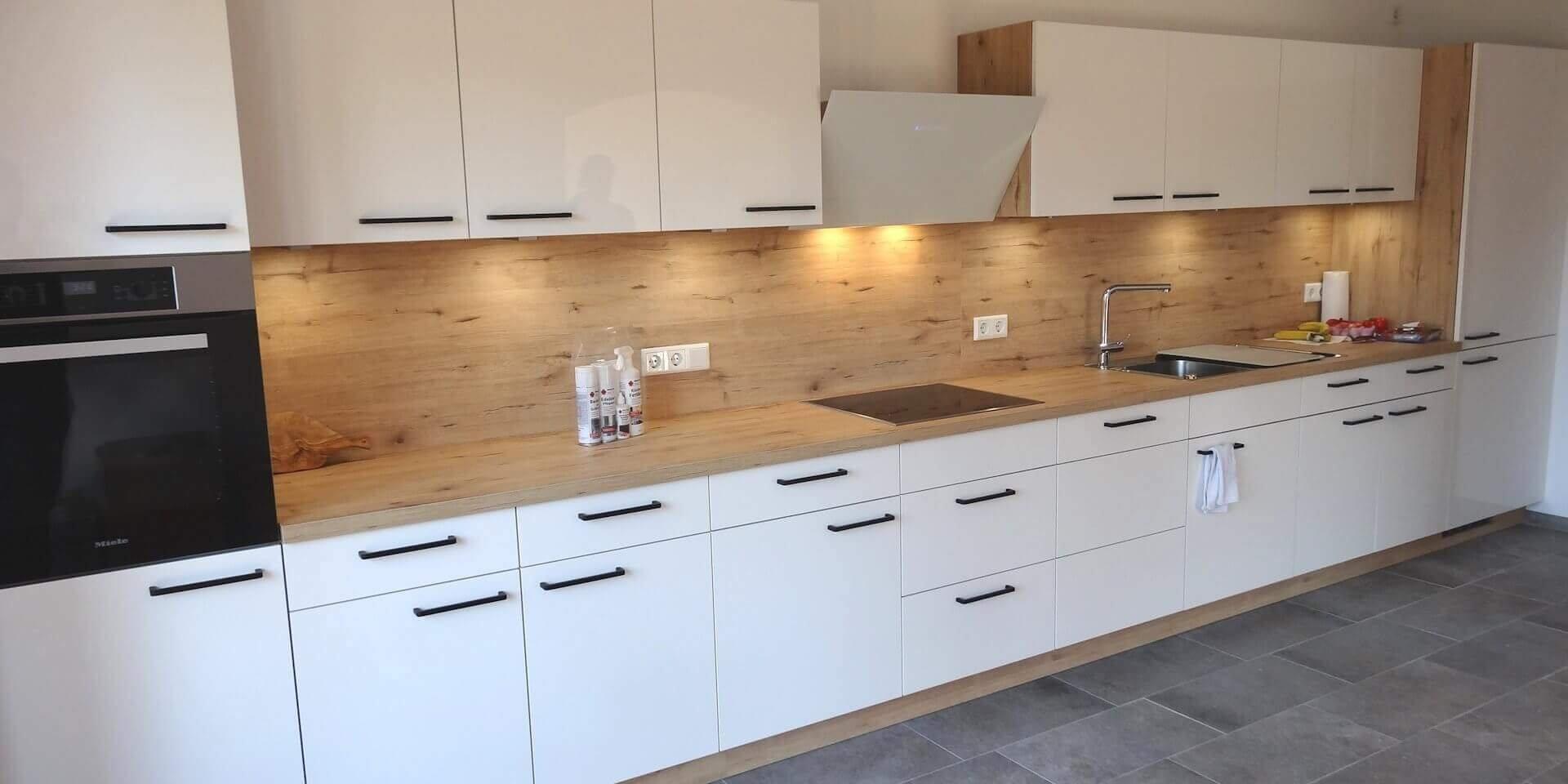 Nolte Küchen - Modell Lux kombiniert mit Wildeiche | Möbel ...