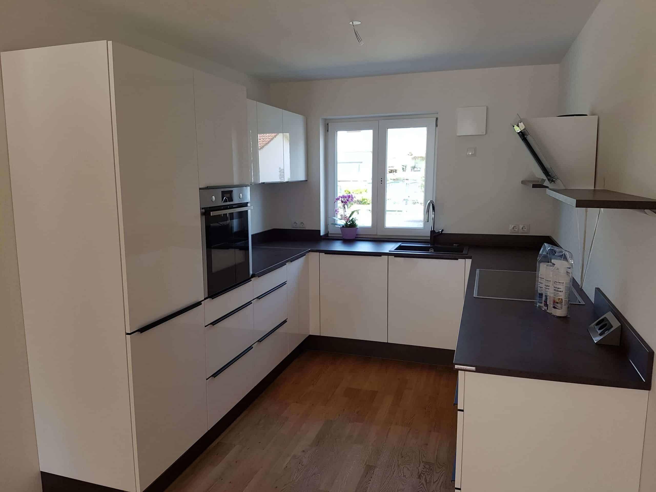 Nolte Küchen - Modell Lux Hochglanz weiß | Möbel Spanrad