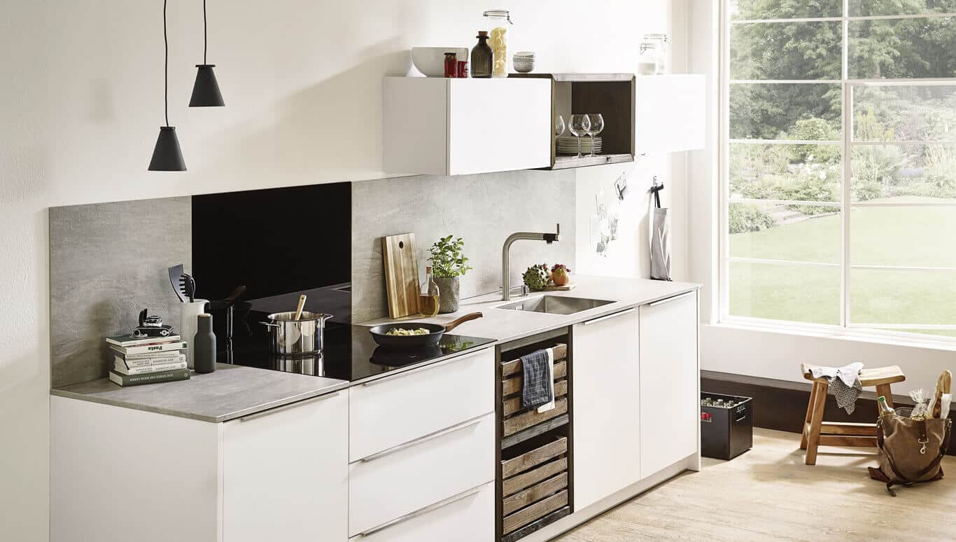 Keramikarbeitsplatte - pflegeleicht und robust  Möbel Spanrad