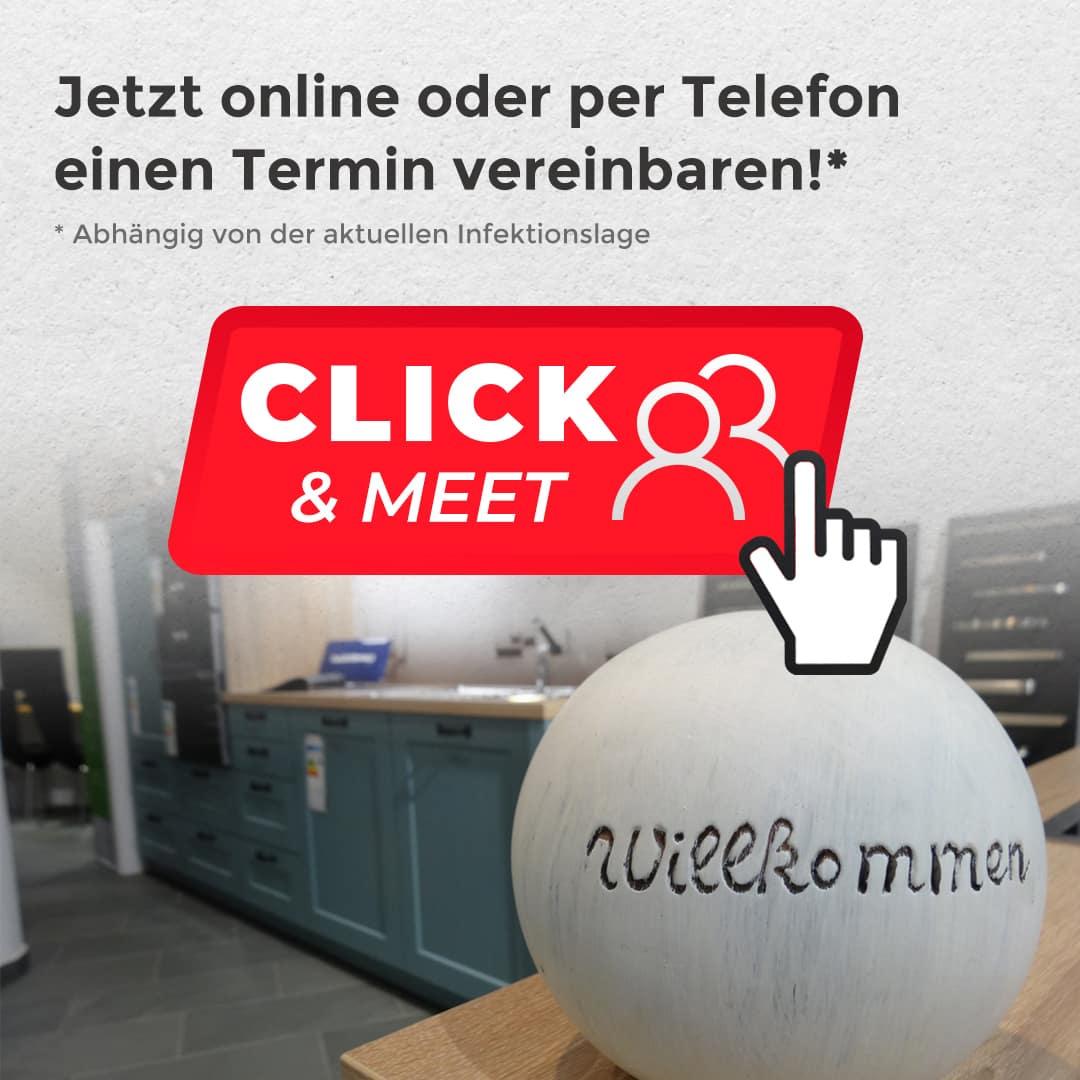 ClickMeet Instagram Beitrag - Click&Meet